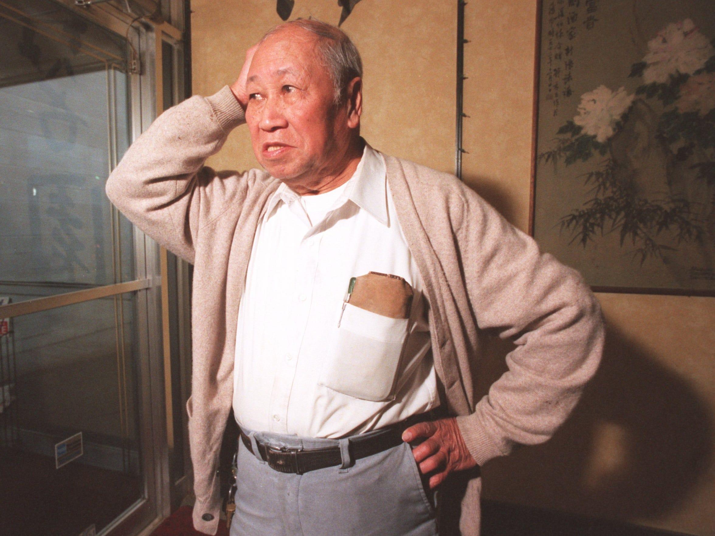 David Leong closed Leong's Tea House in December 1997.