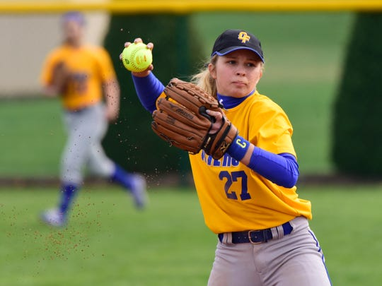 Clyde shortstop Heidi Marshall was recognized first-team