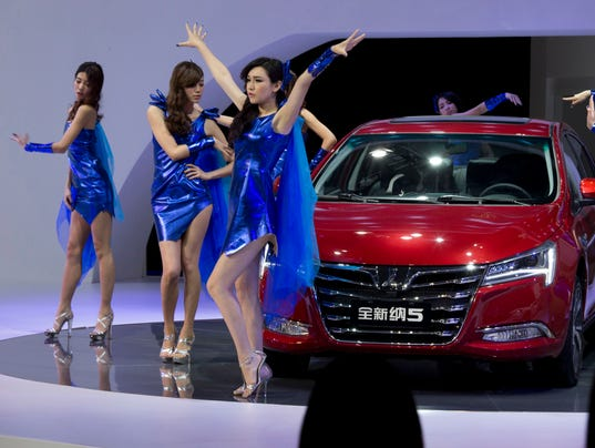 China Bans Sexy Female Models From Shanghai Auto Show