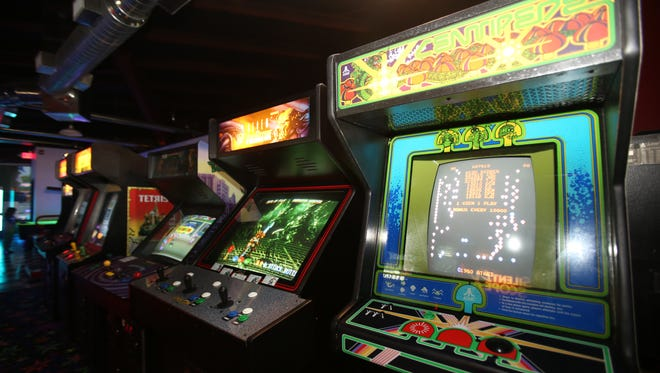 Nanuet Arcade has a variety of video games in Nanuet on July 21, 2015