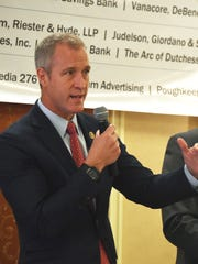 Rep. Sean Patrick Maloney speaks at the Dutchess County