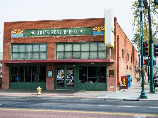 This is Joe's Real BBQ in downtown Gilbert, Feb. 2,