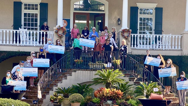 The One Hundred Children's Foundation presented individual grants to eight area organizations on Oct. 23. The total amount was $99,448.