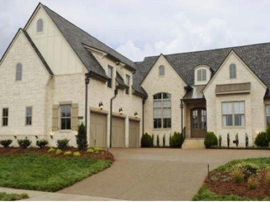 This four-bedroom Nolensville home was featured in