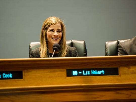 Liz Hebert serves on the Lafayette City-Parish Council and is the 2018 chairwoman of the Lafayette Public Utilities Authority that oversees the Lafayette Utilities System.