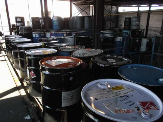 The plants, operated by Container Life Cycle Management, refurbish 55-gallon steel drums and large plastic chemical containers, cleaning them out for reuse or recycling.
