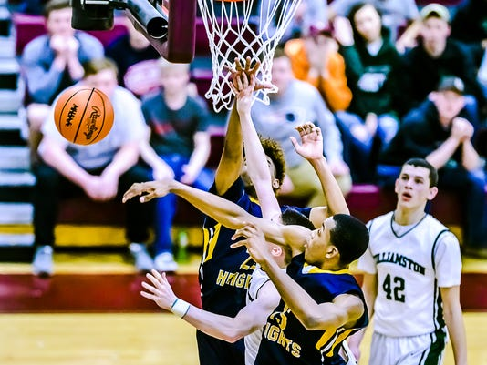 Class B Boys Basketball District Semifinals