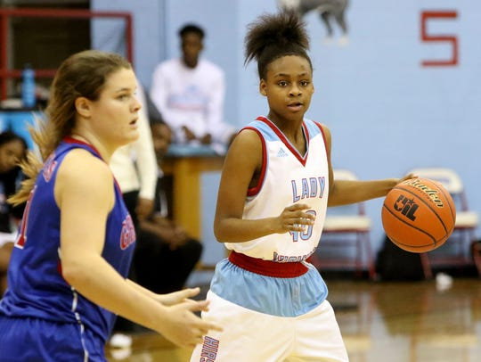 Hirschi's Eternity Hull had a strong freshman season she'll try to build on as a sophomore for the Lady Huskies.