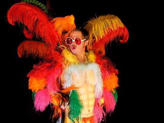 Rus Anderson in Rocket Man: The Elton John Tribute