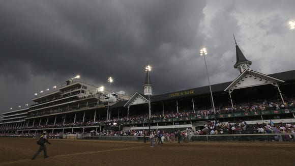 LOSER - Churchill Downs: Another session, another defeat for expanded gambling.