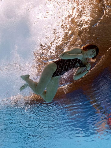 Australian diver Maddison Keeney took a 0.0 in the