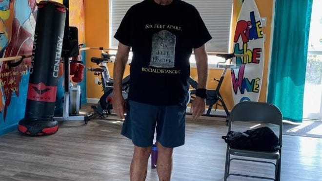 Tom Quinlan, who recently turned 80, credits yoga with giving him a new lease on life.