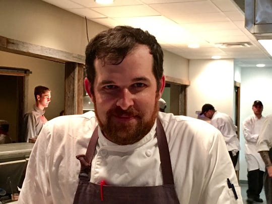 David Rule, chef/owner of The Walnut Kitchen in Maryville.
