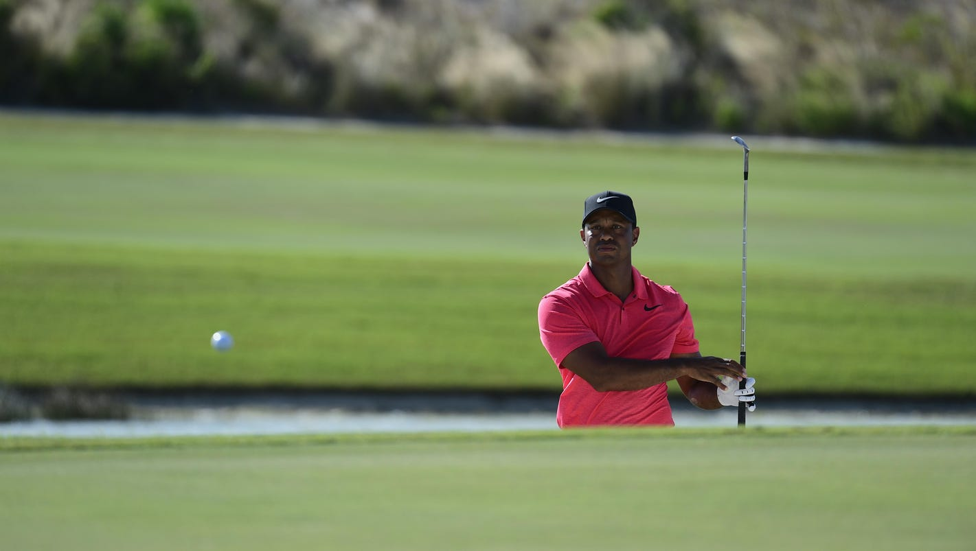 Tiger Woods may have a future on the course, after all