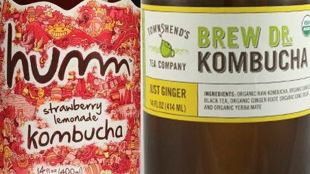 Kombucha is sold at most grocers, and Liquor Outlet in South Salem has Humm kombucha on tap.