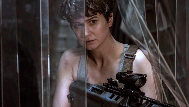 "Katherine Waterston fights back in ""Alien: Covenant."""