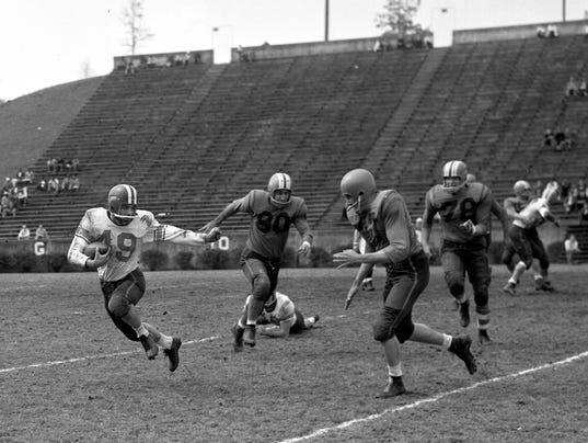 1957 Clemson spring game
