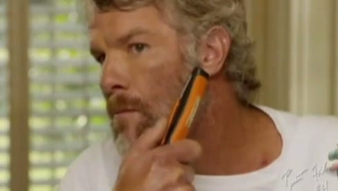 Brett Favre knows when it's time to say goodbye ... to his beard.