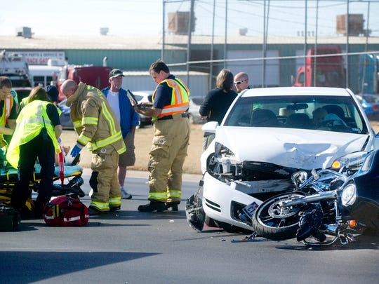 Motorcyclist in critical condition following Abilene wreck