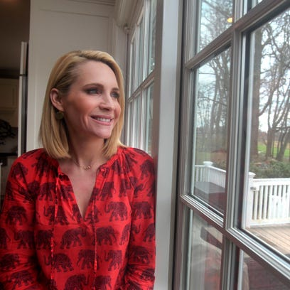 Andrea Canning, a correspondent for NBC News, photographed