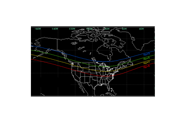 Northern Lights possible Sunday night across northern US Canada