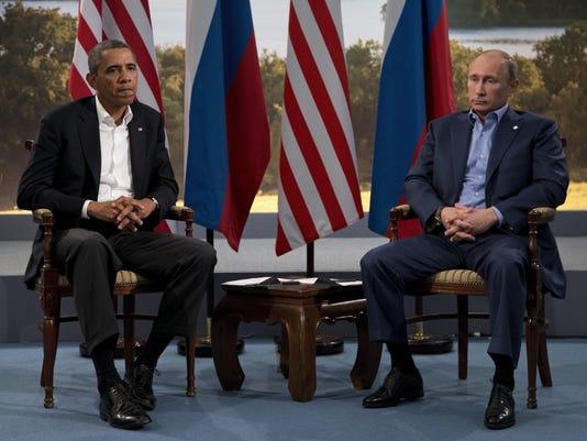 Barack Obama,Vladimir Putin