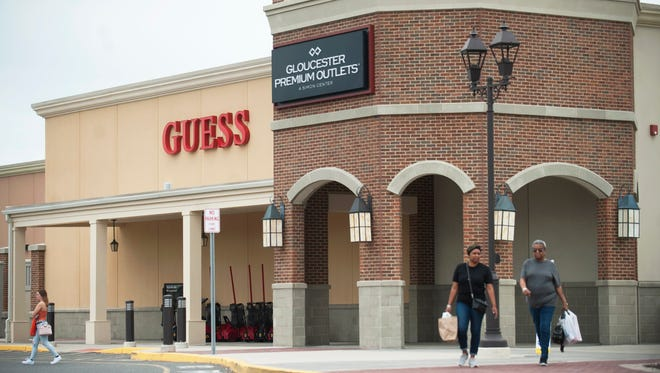 The Gloucester Premium Outlets has closed its food court, but added food trucks and will soon have more culinary options when Dave & Buster's opens this spring.