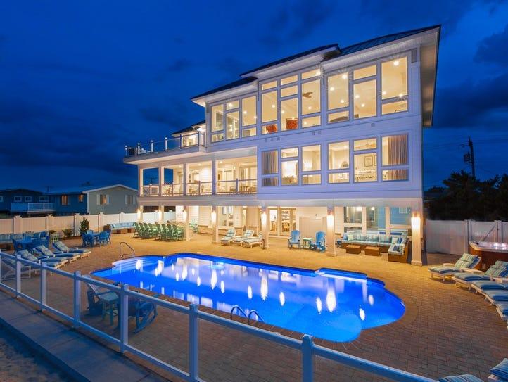 Virginia: This 10-bedroom rental in Virginia Beach