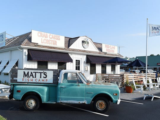Matt's Fish Camp, SoDel Concepts' newest restaurant, is located on Tenley Court off Coastal Highway near Lewes.