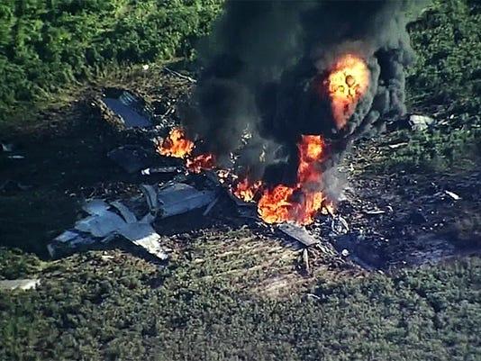 1 plane crash