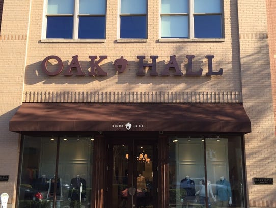 Memphis clothier oak hall is now open in nashville at hill center