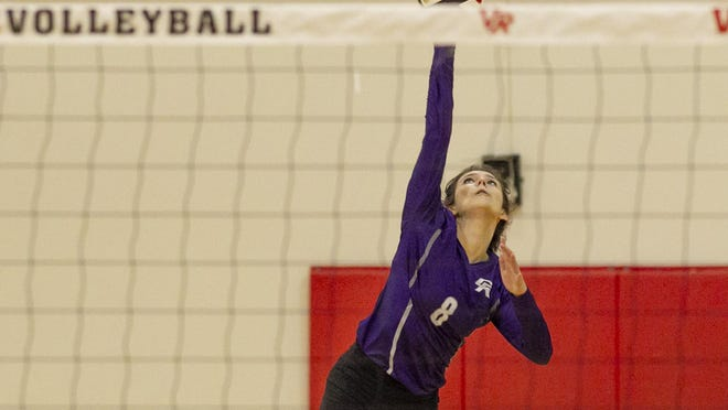 Cedar Ridge senior Alexis Ford totaled 33 kills in wins over Vandegrift and Round Rock Christian to earn American-Statesman player of the week honors.