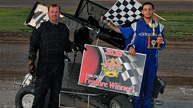 Buddy Mullens took the A Class Winged and A Class Non-Wing at the Little DCRP season opener.