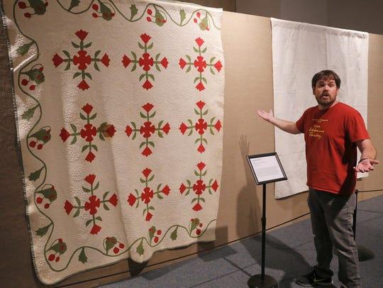 Farmington Museum curator Jeffrey Richardson talks