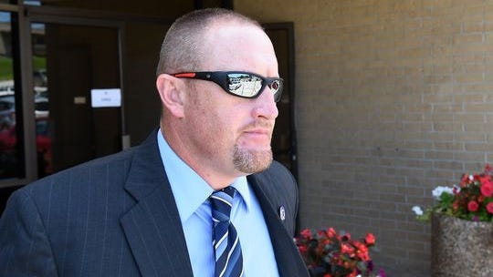 In the civil lawsuit that names Daniel Sutterfield (pictured) as a defendant, the attorney for Nicholas Dore plans to show information that Sutterfield engaged in other incidents of excessive force as police chief of Bull Shoals.