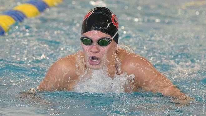 Central York High School graduate Jade Arganbright is expected to return to York County for the Pennsylvania State Athletic Conference Swimming Championships. She's a standout on the California University of Pennsylvania swimming team. She is one of a number of former York County high school standouts expected to compete in the meet.