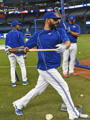 Jose Bautista has waited a long time to reach the postseason with the Blue Jays.