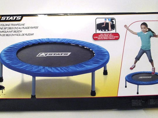 A consumer watchdog group says a quick-folding trampoline can lead to injuries, particularly in children.