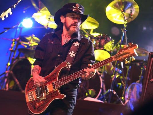 Metal great Lemmy Kilmister from Motorhead dead at 70