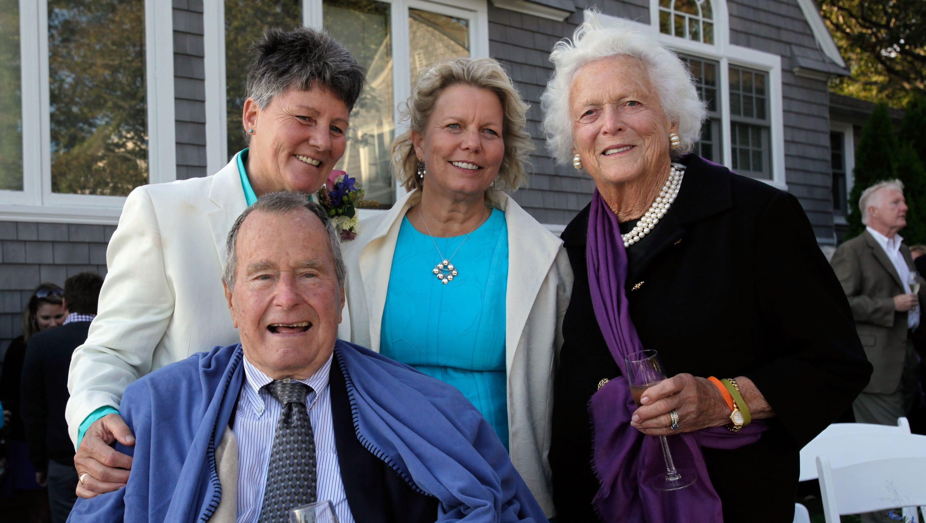 George HW Bush Witness At Same Sex Wedding In Maine
