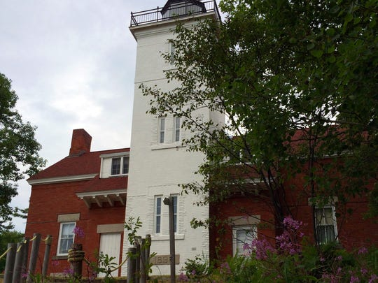 The 40 Mile Point Lighthouse in Rogers City