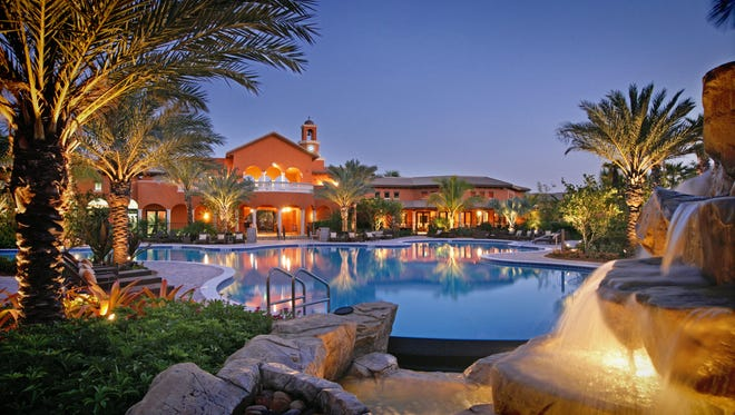 The Village Center pool in Olé at Lely Resort.