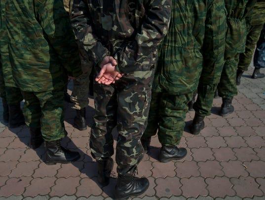 Crimea Militia Ukraine