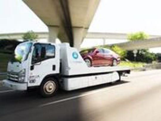 Carvana delivers the majority of its vehicles through