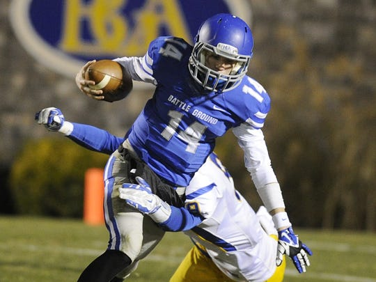 BGA quarterback Clayton Beathard.