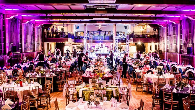 Valencia Ballroom decorated for the Taste of York City event in 2013.