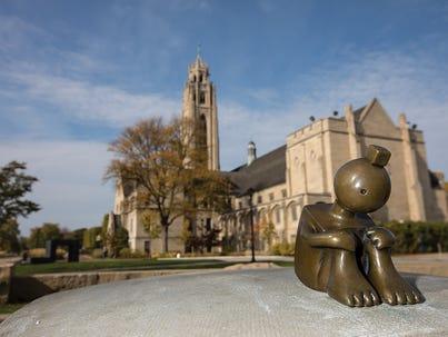 Sculpture Garden at the Memorial Art Gallery