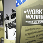 """""""Working Warriors: Military Life Beyond Combat,"""" an exhibit from the Wisconsin Veterans Museum,"""" will be on display in the Portage County Public Library through Feb. 12."""