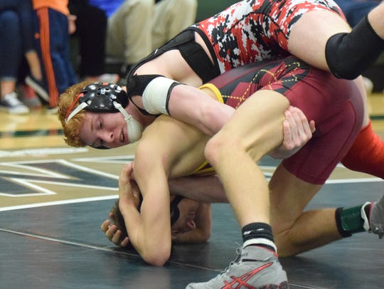 Riverheads' Hunter Sams, top, returns to the All-City/County