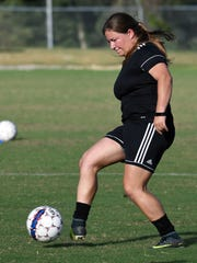 Taylor Gautreaux, a member of the William Carey women's